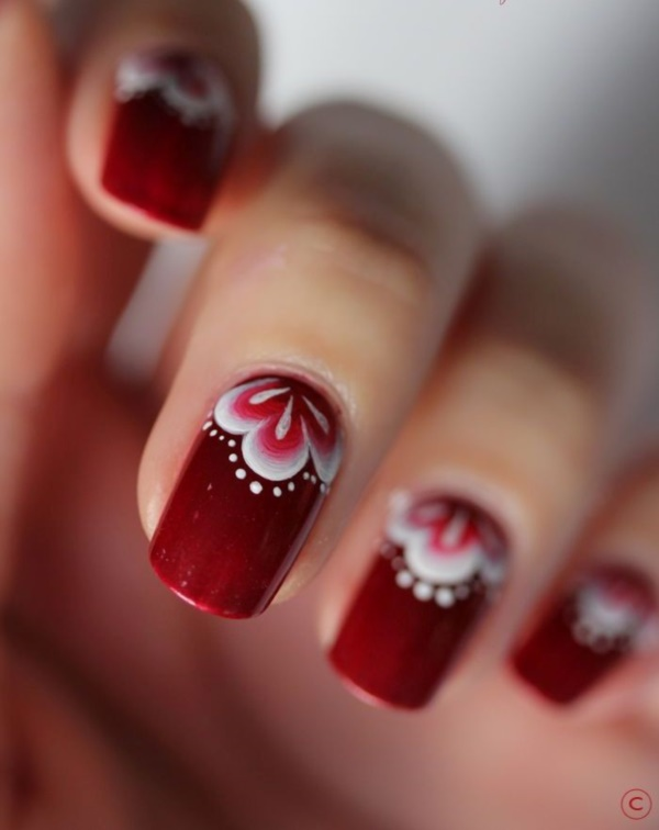 Red Nail Art Designs Cute Nail Ideas For A Red Manicure Pretty 4