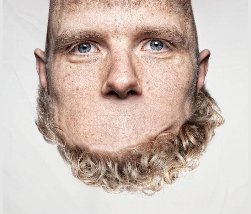 *THORSTEN SCHMIDTKORD有趣攝影系列 Head on Top :「親愛的 我的頭!?」 2