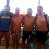 Travesía a nado Tabarca-Santa Pola (12-Julio-2015)