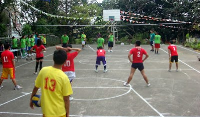 Red vs Green (Volleyball - Boys)
