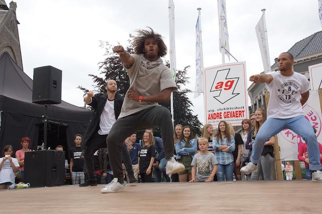 dansoptreden Malik