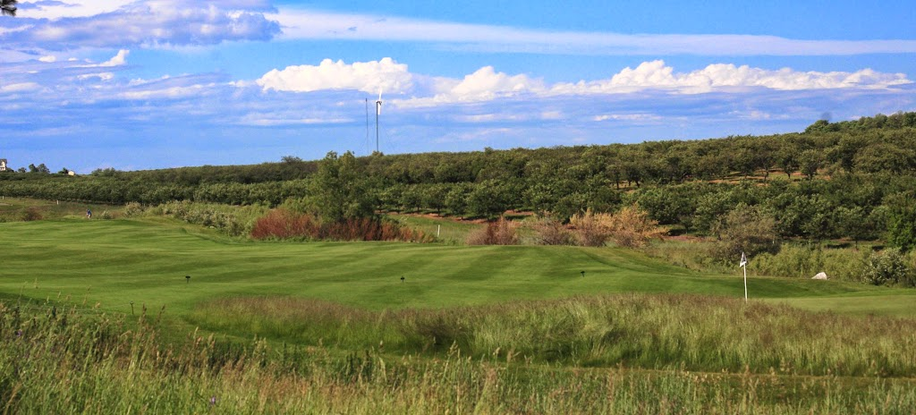 golf and orchard