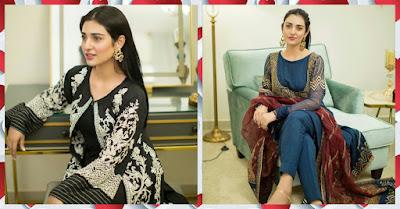 Sarah Khan Gorgeous Clicks from New Fashion Shoot Sarah Khan