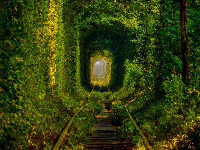 тунель кохання, Клевань