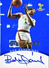 12/13 Panini Preferred Bob Dandridge Blue Auto