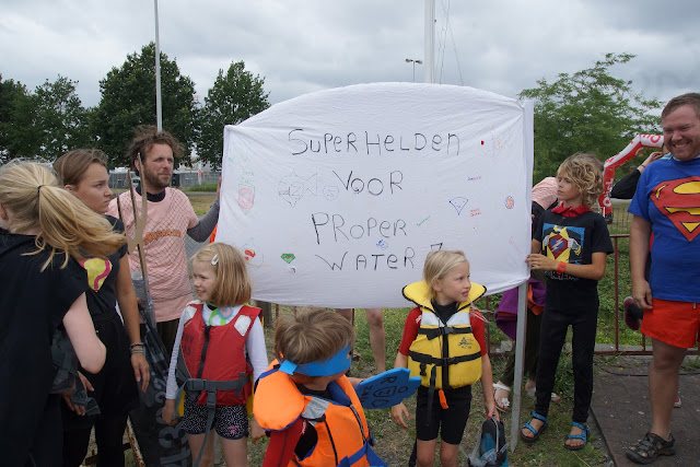 superhelden voor proper water