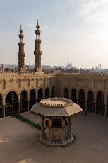 Elmoaued Sheikh Mosque from the roof.