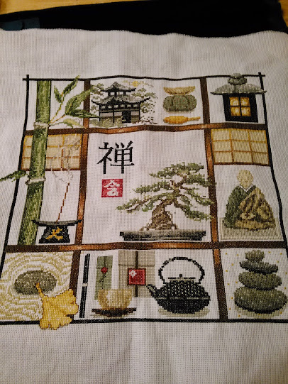 Zen Cross Stitch