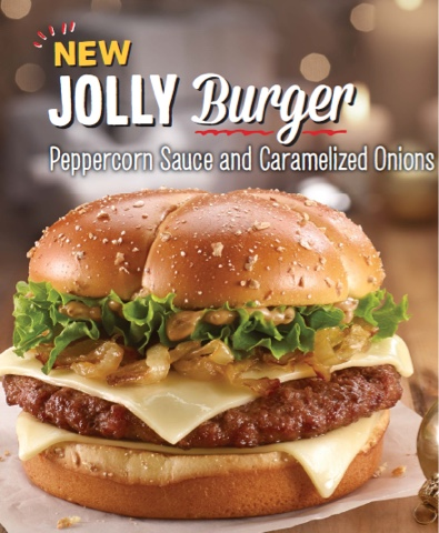 McDonald's Jolly Burger