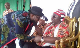 Timaya Pictured At Democracy Day Celebration In Imo