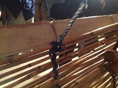 伝統的な玉露や抹茶の覆いで使われる、よしずの作り方 - 13
