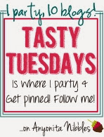 I party & get pinned at Tasty Tuesdays on Anyonita Nibbles