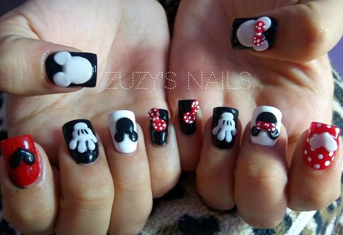 Zuzys Nails Mickey Mouse Nails