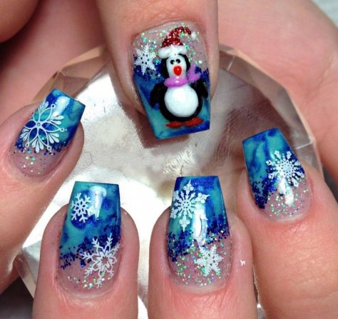 christmas nail art new 2017 style you 7. Black Bedroom Furniture Sets. Home Design Ideas