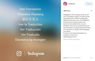 Instagram To Add Translate Button Next Month 1