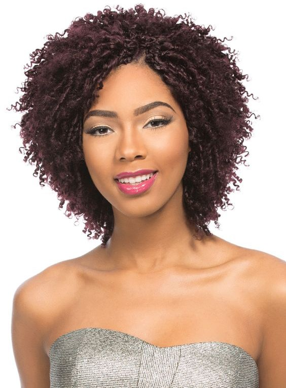 +18 Natural Hairstyle Ideas for African Short Hair 2018 - 2019 1