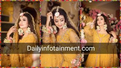 Zarnish Khan Looks Fairytale Bride in her Latest Photo Shoot