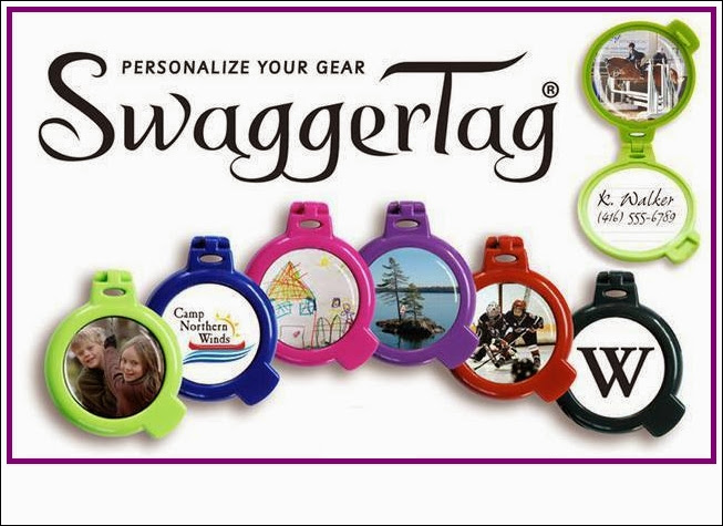 By customizing SwaggerTag with your own photo, image or logo, you can let everyone know it's your stuff.