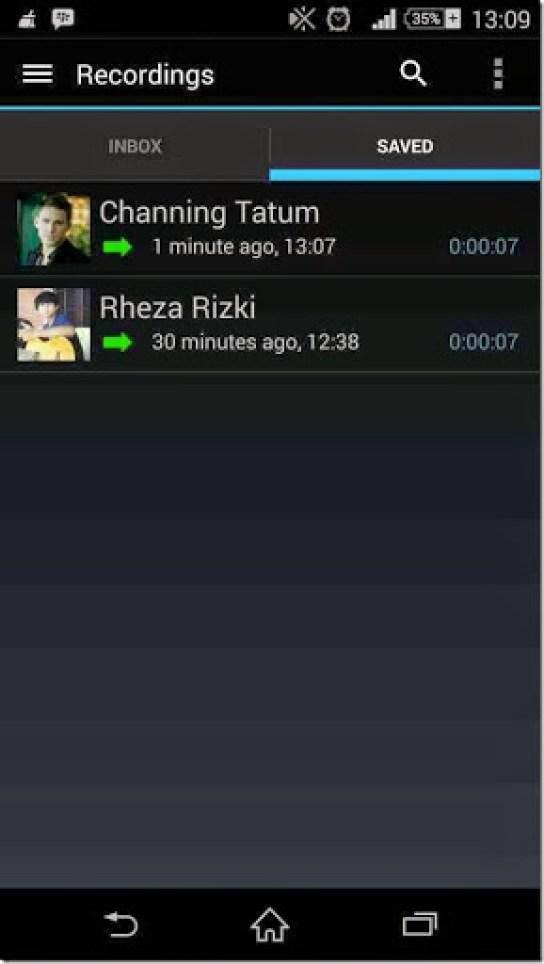 aplikasi merekam panggilan dengan otomatis