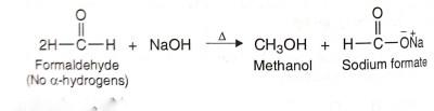 Cannizaro Reaction, Crackchemistry
