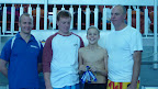 """""""Open"""" mens relay ERC 2012 Pool champs"""