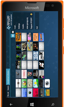 Play PSP Games On Windows Phone, IPhone,BB10 and Symbian Devices 3