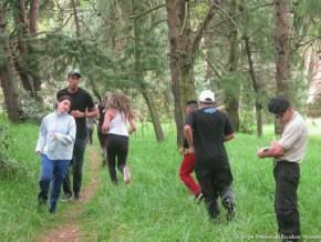 Aspirantes GETO trotando en el Humedal El Salitre