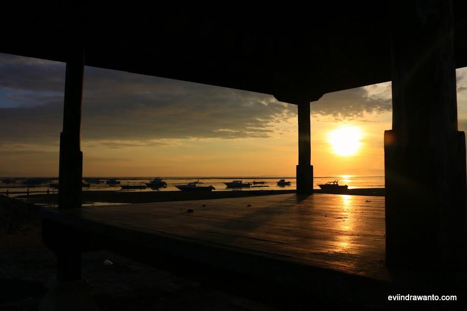 Sunrise di Pantai Semawang - Sanur