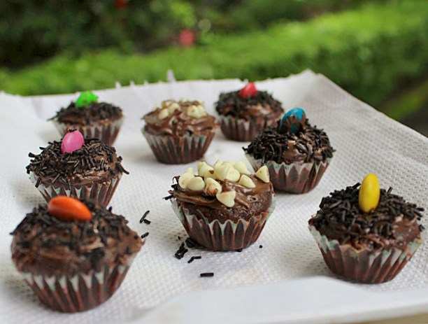 Mini Chocolate Cupcakes Recipe