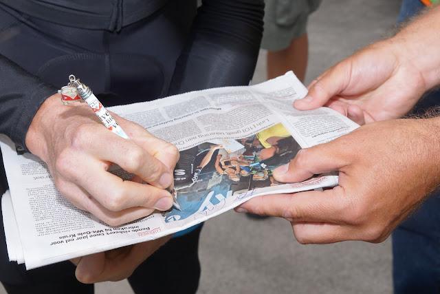 handtekening Chris Froome