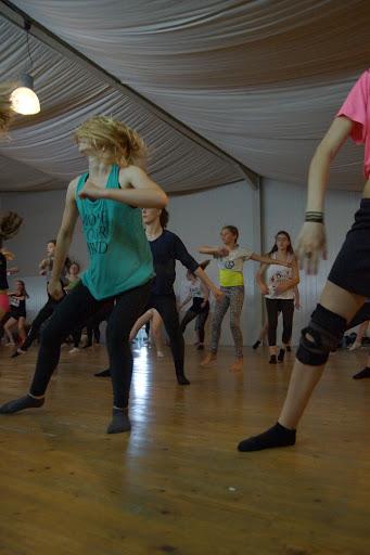 worshop dansen met Morgane