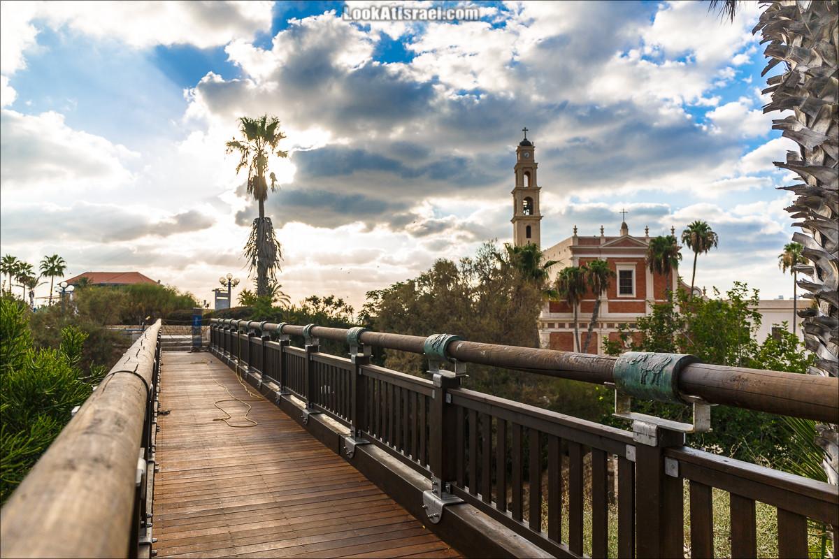 Мост желаний в Яффо | LookAtIsrael.com - Фото путешествия по Израилю и не только...