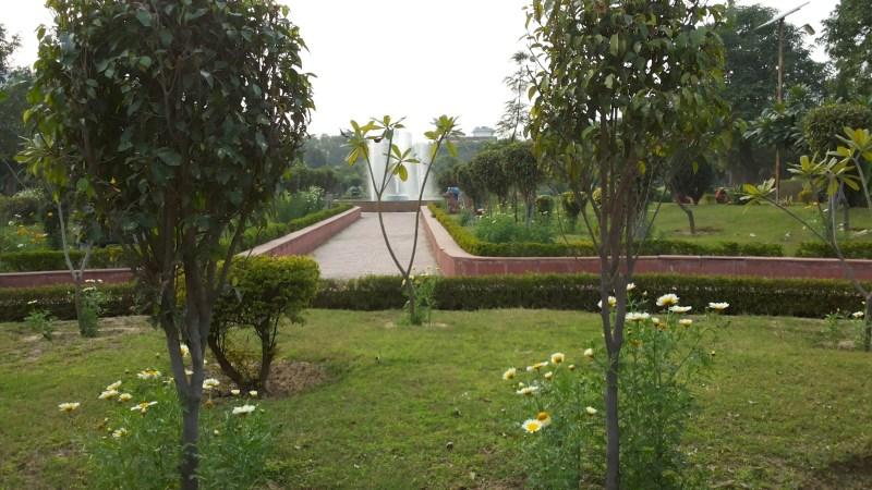 Running routes in Delhi NCR, Swarna Jayanti Park, Indirapuram