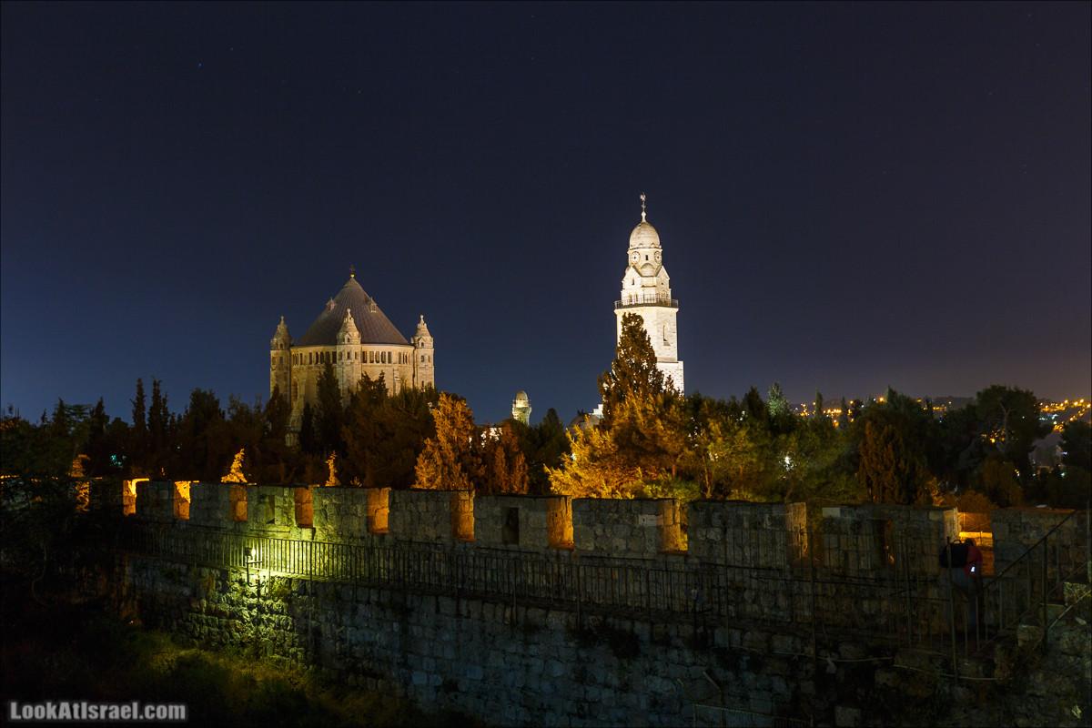 Ночной Иерусалим и туннели Западной стены | Western Wall Tunnel & Night in Jerusalem | מנהרות הכותל | LookAtIsrael.com - Фото путешествия по Израилю