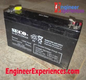 Sealed Lead Acid Battery (Dry Battery)