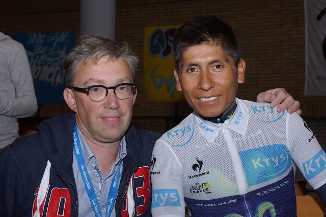 Patrick Verhoest en Nairo Quintana