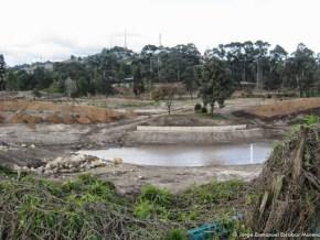Lagunas artificiales en el Club Los Lagartos