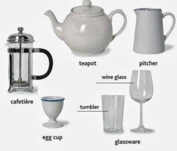 Vaisselle et coutellerie