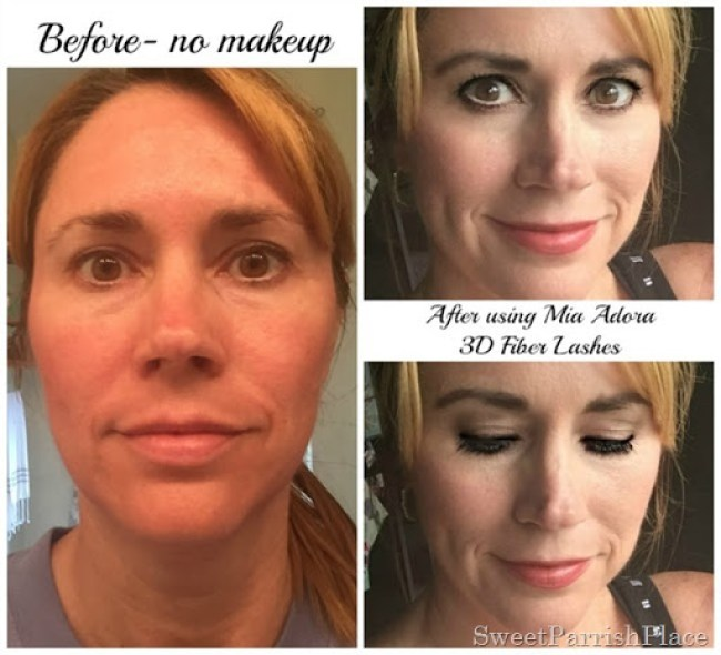 Mia Adora 3D Fiber Lashes Review and tutorial