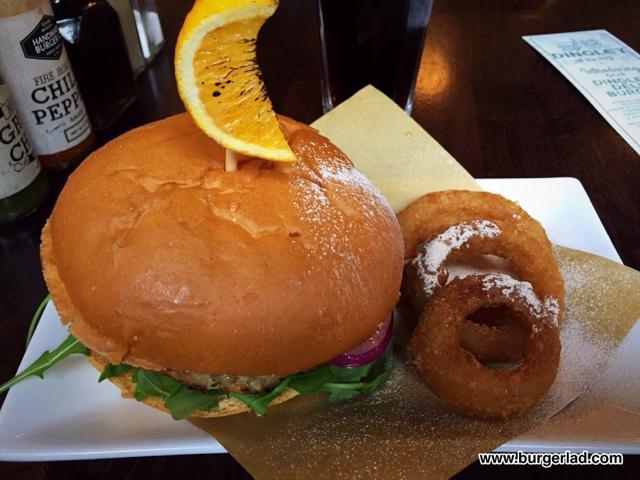 Handmade Burger Co Dingley Dell Burger