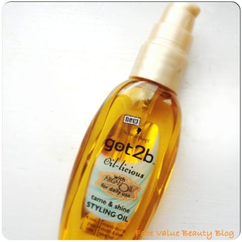 Schwarzkopf got2b oil-licious hair oil
