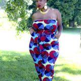 plus size african trendy dresses 2016