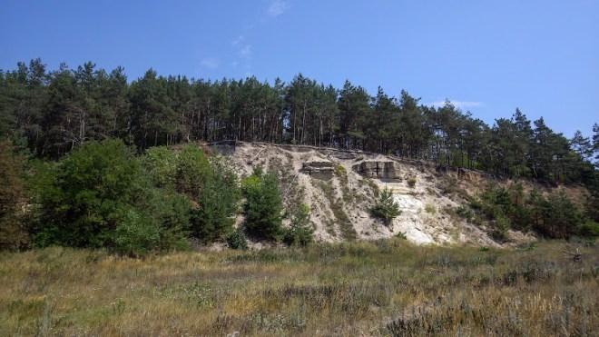 скелі біля села Верхів
