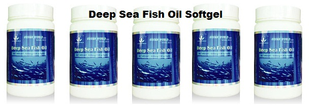 Minyak Ikan Salmon Deep Sea Fish Oil Softgel