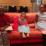 President Buhari meets 10-year-old girl who wrote him a letter, plus White Nigerian daughter Maya & other