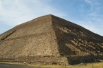 The Pyramid of the Sun, Teotihuacan, Mexico.