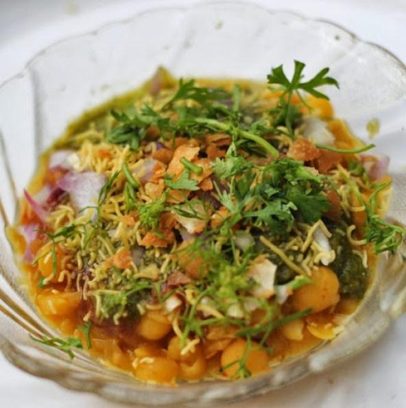 Ragda Patties Recipe   How to make Bombay Aloo Tikki Chaat with Ragda   Delicious spicy Mumbai street food recipe by Kavitha Ramaswamy from Foodomania.com