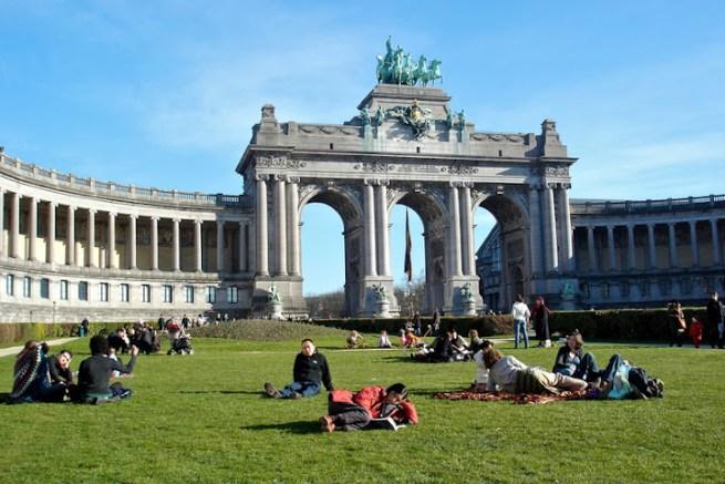 Брюссель, парк 50 летия