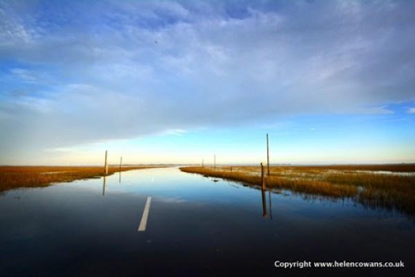 Lindisfarne Causeway 1 HDR
