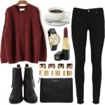 casual outfit ideas for winter 2016